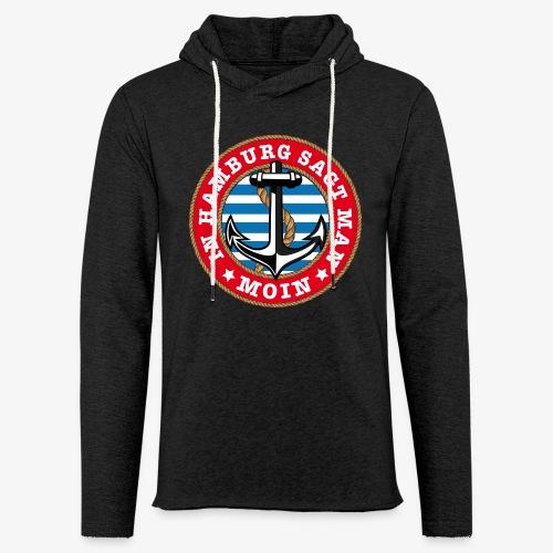 In Hamburg sagt man Moin Anker Seil Shirt 77 - Leichtes Kapuzensweatshirt Unisex