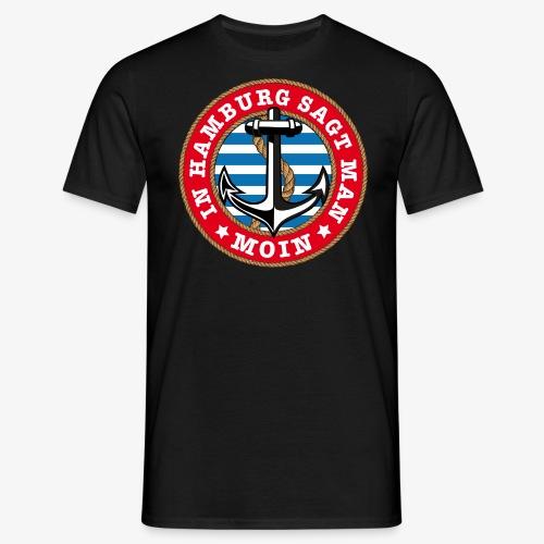 In Hamburg sagt man Moin Anker Seil Shirt 77 - Männer T-Shirt