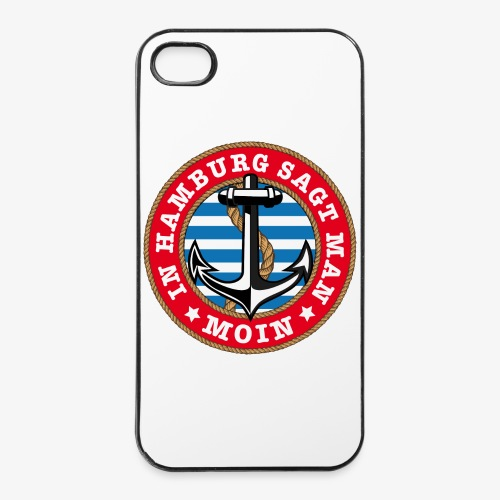 In Hamburg sagt man Moin Anker Seil Shirt 77 - iPhone 4/4s Hard Case