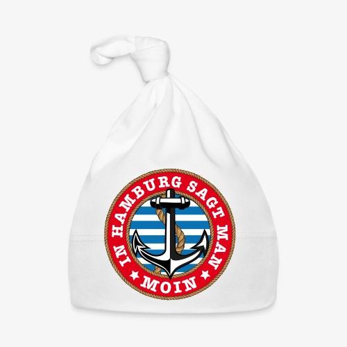 In Hamburg sagt man Moin Anker Seil Shirt 77 - Baby Mütze