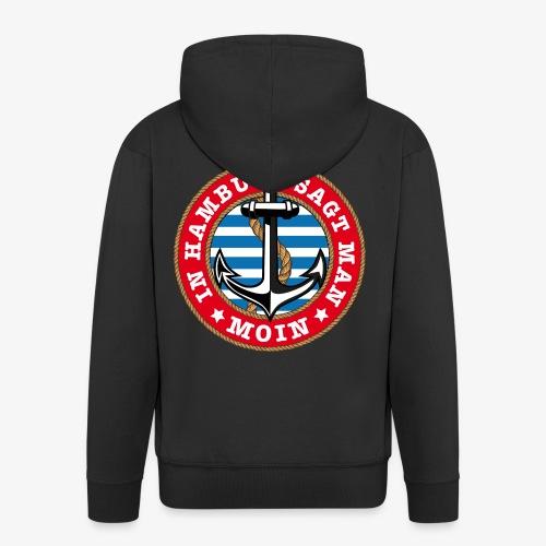 In Hamburg sagt man Moin Anker Seil Shirt 77 - Männer Premium Kapuzenjacke