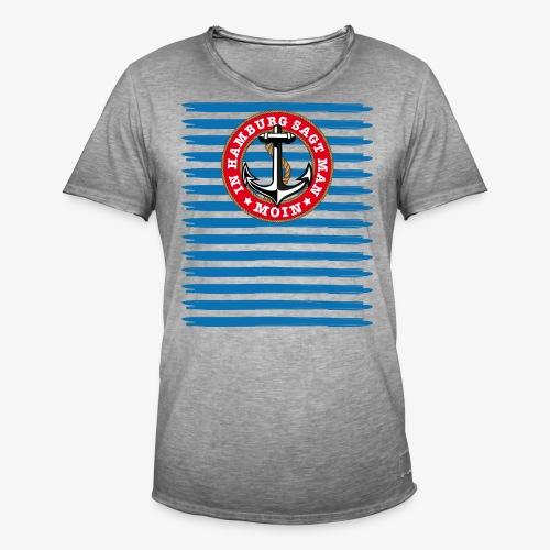 In Hamburg sagt man Moin Anker Seil Shirt 79 - Männer Vintage T-Shirt