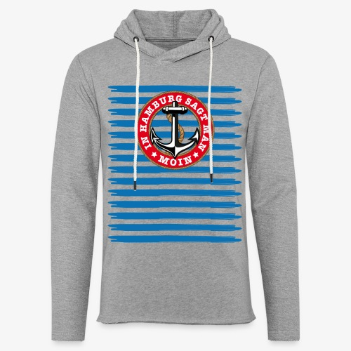 In Hamburg sagt man Moin Anker Seil Shirt 79 - Leichtes Kapuzensweatshirt Unisex