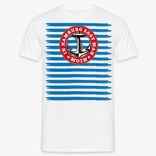 In Hamburg sagt man Moin Anker Seil Shirt 79 - Männer T-Shirt