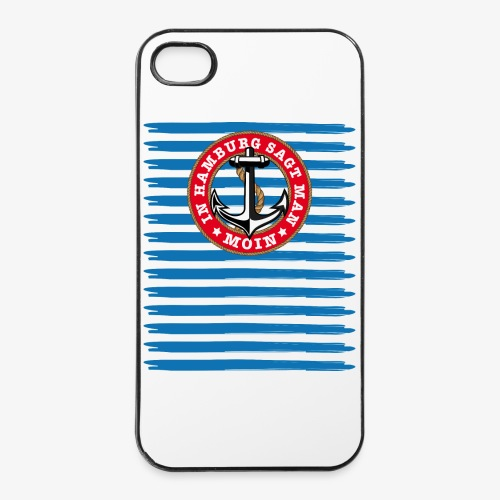 In Hamburg sagt man Moin Anker Seil Shirt 79 - iPhone 4/4s Hard Case