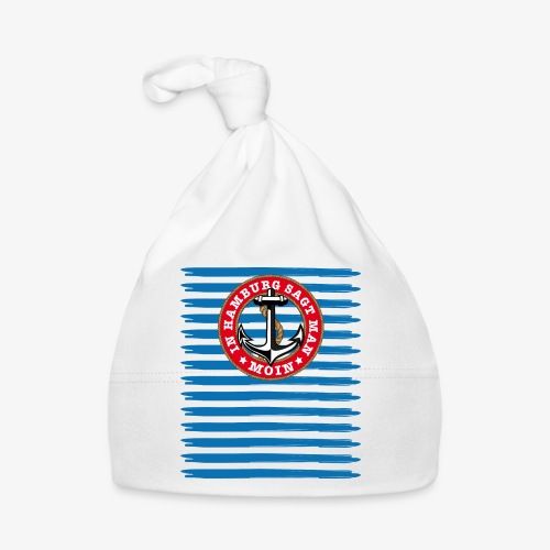In Hamburg sagt man Moin Anker Seil Shirt 79 - Baby Mütze
