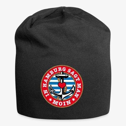 In Hamburg sagt man Moin Anker Seil Herz Shirt 78 - Jersey-Beanie