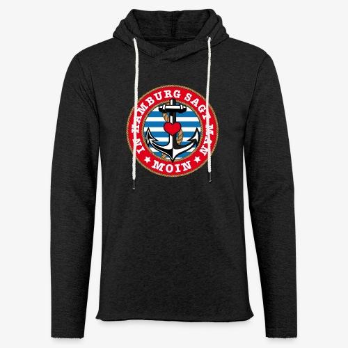 In Hamburg sagt man Moin Anker Seil Herz Shirt 78 - Leichtes Kapuzensweatshirt Unisex