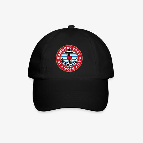 In Hamburg sagt man Moin Anker Seil Herz Shirt 78 - Baseballkappe