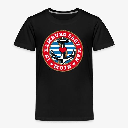 In Hamburg sagt man Moin Anker Seil Herz Shirt 78 - Kinder Premium T-Shirt