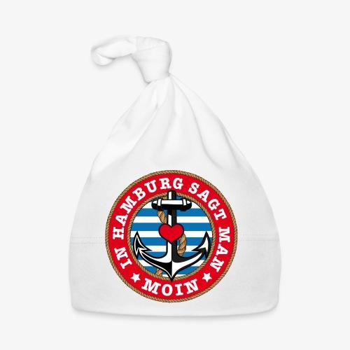 In Hamburg sagt man Moin Anker Seil Herz Shirt 78 - Baby Mütze