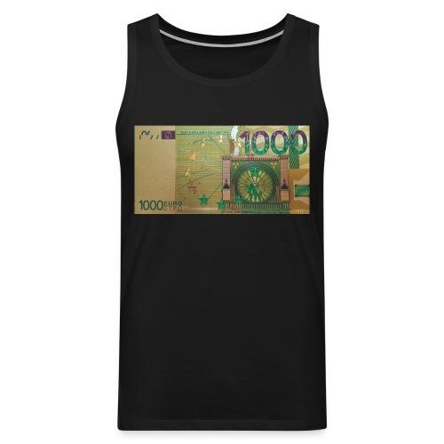 1000 Euro - Men's Premium Tank Top
