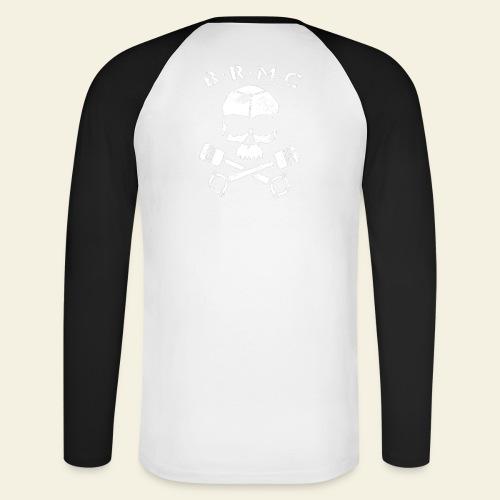 BRMC - Langærmet herre-baseballshirt