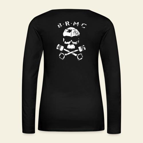 BRMC - Dame premium T-shirt med lange ærmer