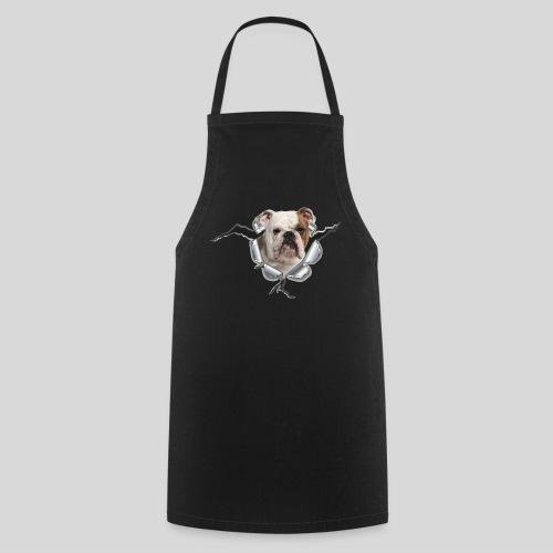 Englische Bulldogge *Metall-Loch* - Kochschürze