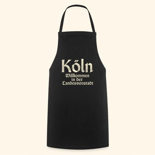 Köln T-Shirt für Düsseldorfer - Kochschürze