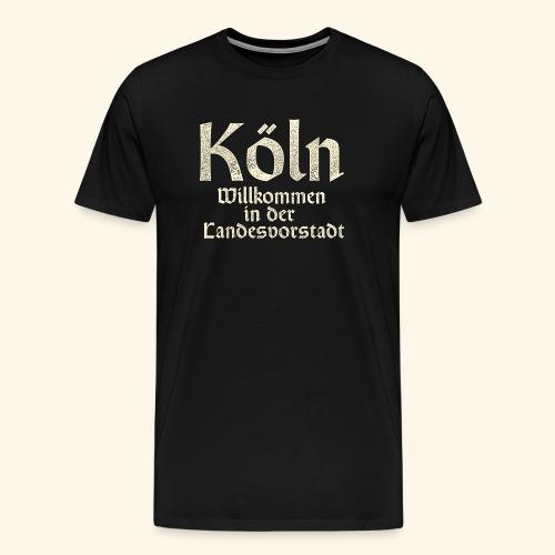 Köln T-Shirt für Düsseldorfer - Männer Premium T-Shirt