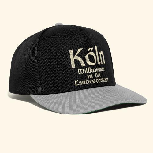 Köln T-Shirt für Düsseldorfer - Snapback Cap