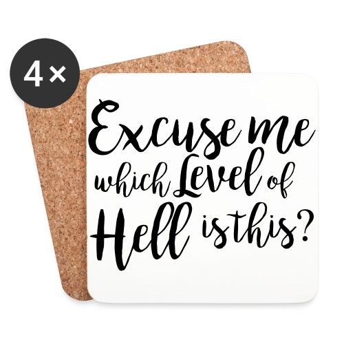 Level of Hell - Untersetzer (4er-Set)