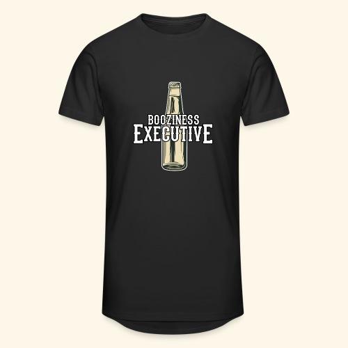 Bier-T-Shirt Boozioness Executive - Männer Urban Longshirt