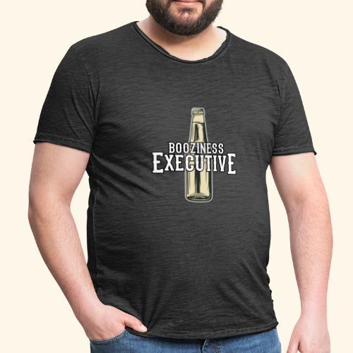 Bier-T-Shirt Boozioness Executive - Männer Vintage T-Shirt