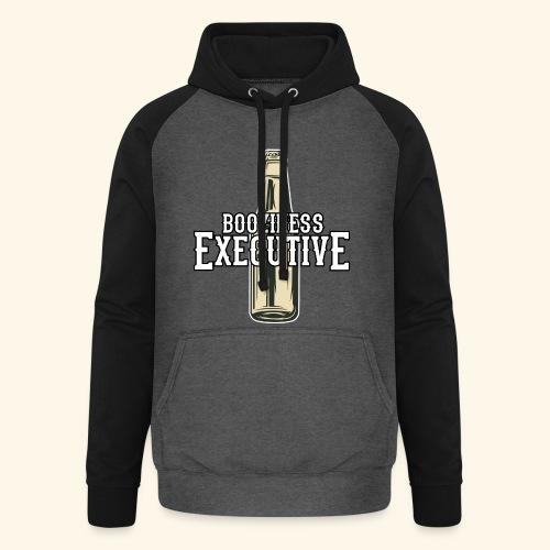 Bier-T-Shirt Boozioness Executive - Unisex Baseball Hoodie