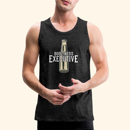 Bier-T-Shirt Boozioness Executive - Männer Premium Tank Top