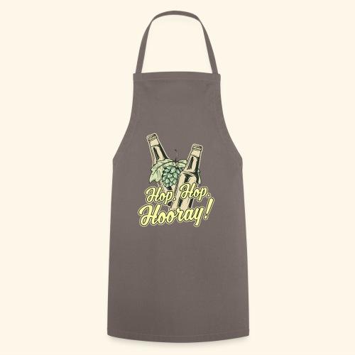 Craft Beer T-Shirt Hop, Hop, Hooray! - Kochschürze