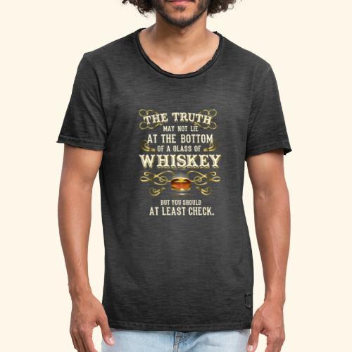 Whiskey T-Shirt - Great Gift Idea! - Männer Vintage T-Shirt
