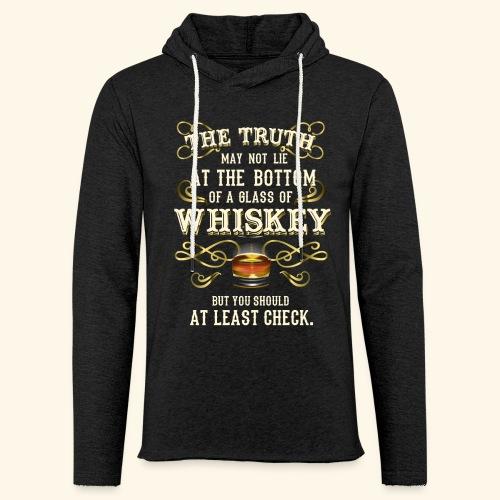 Whiskey T-Shirt - Great Gift Idea! - Leichtes Kapuzensweatshirt Unisex