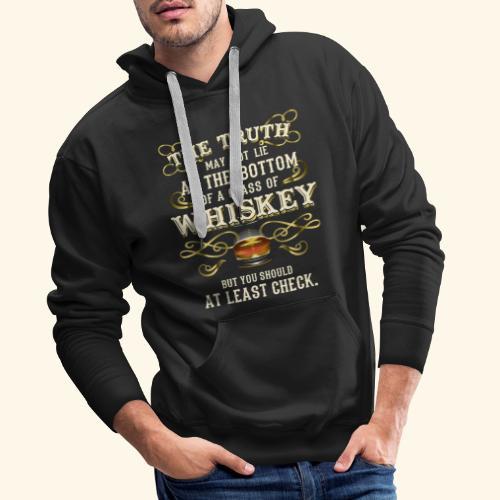 Whiskey T-Shirt - Great Gift Idea! - Männer Premium Hoodie