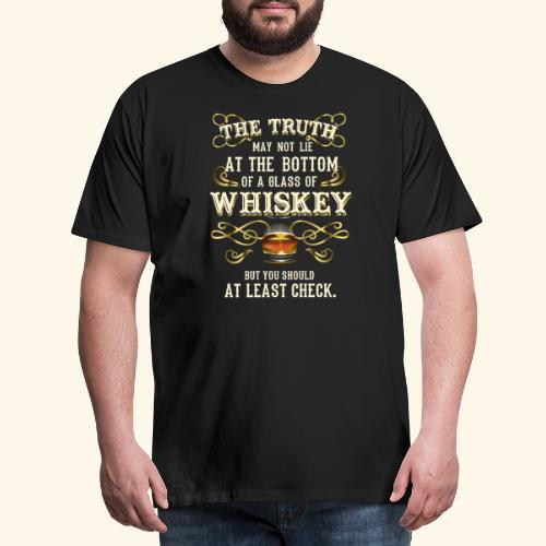 Whiskey T-Shirt - Great Gift Idea! - Männer Premium T-Shirt