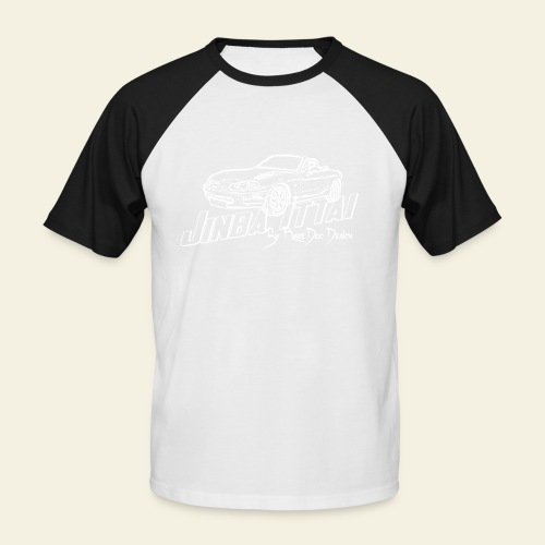 MX-5 NB Jinba Ittai - Kortærmet herre-baseballshirt