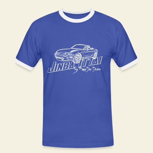 MX-5 NB Jinba Ittai - Herre kontrast-T-shirt
