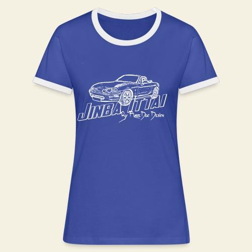 MX-5 NB Jinba Ittai - Dame kontrast-T-shirt