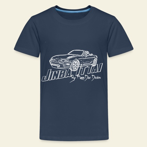 MX-5 NB Jinba Ittai - Teenager premium T-shirt