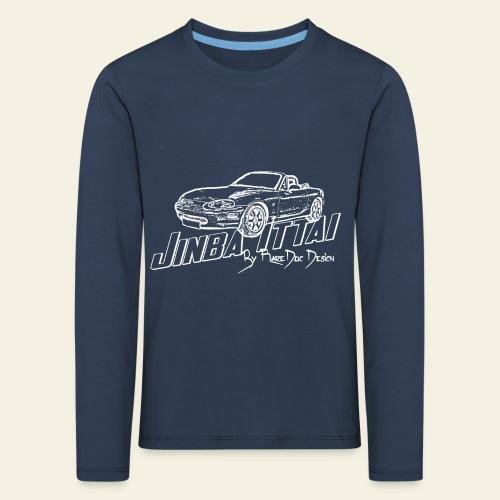 MX-5 NB Jinba Ittai - Børne premium T-shirt med lange ærmer