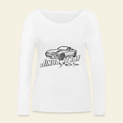 MX-5 NB Jinba Ittai - Økologisk Stanley & Stella langærmet T-shirt til damer