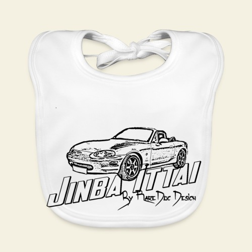 MX-5 NB Jinba Ittai - Baby økologisk hagesmæk