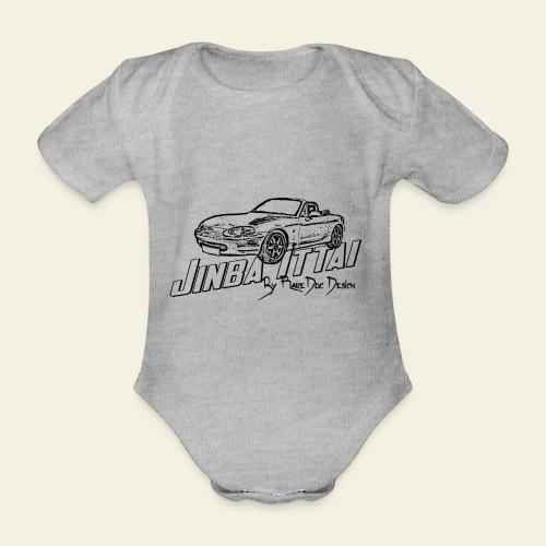 MX-5 NB Jinba Ittai - Kortærmet babybody, økologisk bomuld