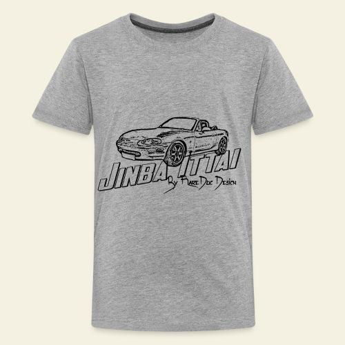MX-5 NB Jinba Ittai - Teenager premium T-shirt