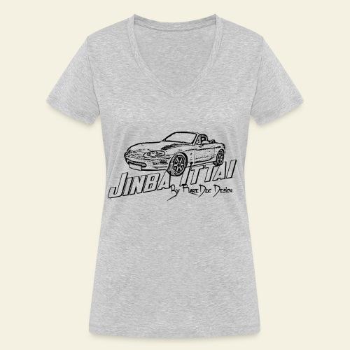 MX-5 NB Jinba Ittai - Økologisk Stanley & Stella T-shirt med V-udskæring til damer