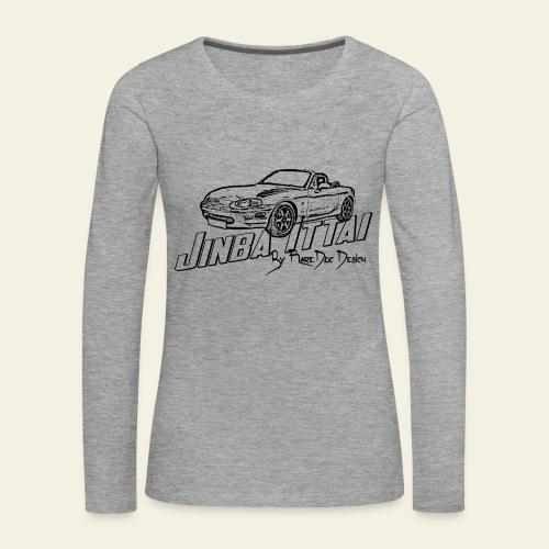 MX-5 NB Jinba Ittai - Dame premium T-shirt med lange ærmer