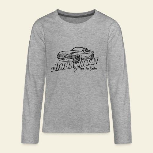 MX-5 NB Jinba Ittai - Teenager premium T-shirt med lange ærmer