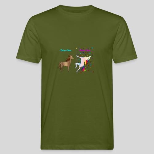 Deine Oma / Meine Oma - Männer Bio-T-Shirt