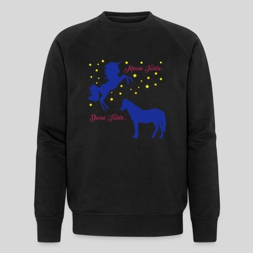 Deine Tante / Meine Tante (3) - Männer Bio-Sweatshirt von Stanley & Stella