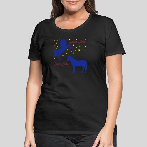 Deine Tante / Meine Tante (3) - Frauen Premium T-Shirt