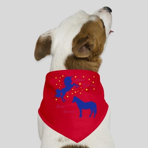 Deine Cousine / Meine Cousine (1) - Hunde-Bandana