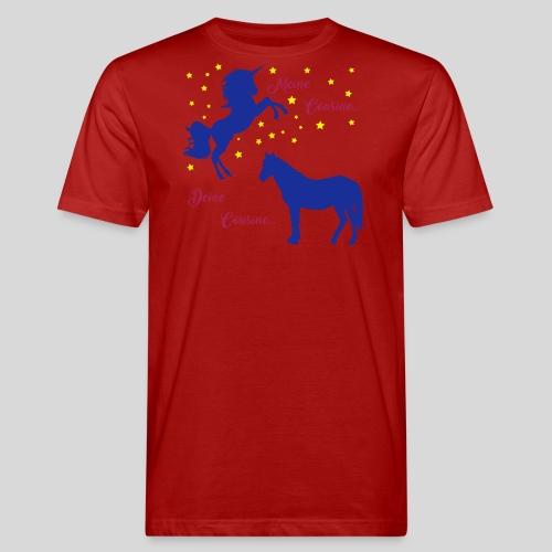 Deine Cousine / Meine Cousine (1) - Männer Bio-T-Shirt