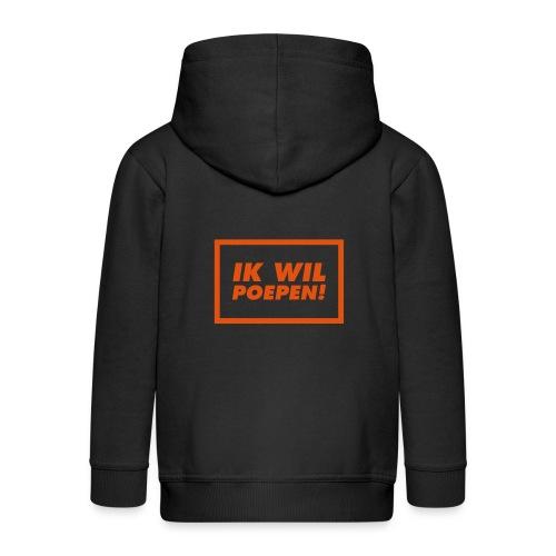 ik wil poepen! - t shirt - Veste à capuche Premium Enfant